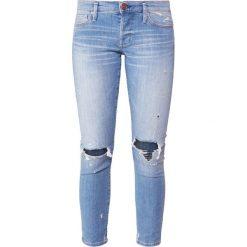 True Religion LIV  Jeans Skinny Fit blue. Niebieskie boyfriendy damskie True Religion, z bawełny. Za 839,00 zł.