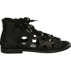 Sandały damskie: Sandały – 1950 NAB NERO