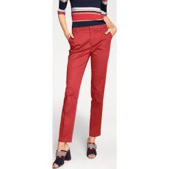 Odzież damska: Spodnie chino w kolorze czerwonym