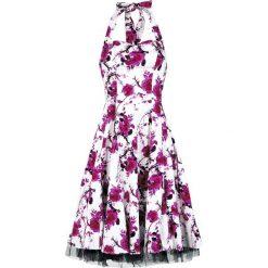 H&R London Pink Floral Dress Sukienka biały/różowy. Białe sukienki na komunię H&R London, xxl, z nadrukiem, z tiulu, bez ramiączek, oversize. Za 184,90 zł.