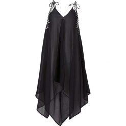 Sukienki asymetryczne: Sukienka plażowa bonprix czarny