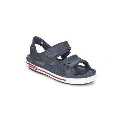 Sandały Dziecko  Crocs  CROCBAND II SANDAL PS. Niebieskie sandały dziewczęce Crocs. Za 129,00 zł.