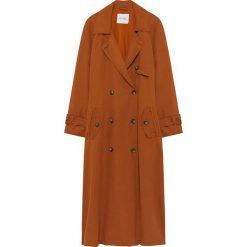 Płaszcze damskie: Płaszcz w kolorze koniaku