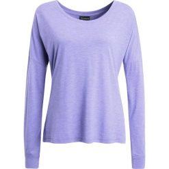 Erima GREEN CONCEPT Bluzka z długim rękawem blue iris. Niebieskie topy sportowe damskie Erima, z bawełny, z długim rękawem. W wyprzedaży za 126,75 zł.
