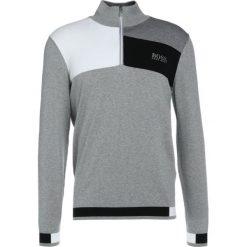 BOSS ATHLEISURE ZELCHIOR PRO Sweter light/pastel grey. Niebieskie swetry klasyczne męskie marki BOSS Athleisure, m. W wyprzedaży za 545,35 zł.