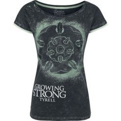 Bluzki asymetryczne: Gra o Tron Tyrell - Growing Strong Koszulka damska ciemnoszary