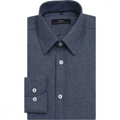 Koszula SIMONE1D KDPS000099. Szare koszule męskie na spinki Giacomo Conti, m, z bawełny, z klasycznym kołnierzykiem, z długim rękawem. Za 229,00 zł.