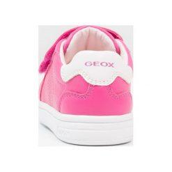 Geox DJROCK GIRL Tenisówki i Trampki dark fuchsia. Czerwone trampki dziewczęce Geox, z materiału. Za 219,00 zł.