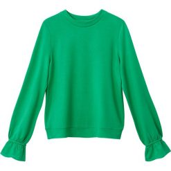 Swetry damskie: Bluza z ozdobnymi rękawami