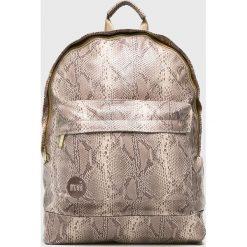 Mi-Pac - Plecak. Szare plecaki damskie Mi-Pac, z materiału. W wyprzedaży za 179,90 zł.