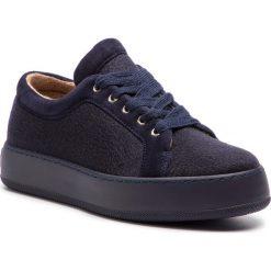 Sneakersy MAXMARA - MM94 45268187600 Blu Unito 007. Niebieskie sneakersy damskie MaxMara, z materiału. Za 1459,00 zł.
