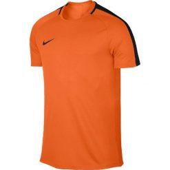 Nike Koszulka piłkarska Dry Academy Top SS pomarańczowa r. L  (832967 806). Brązowe koszulki do piłki nożnej męskie marki Nike, l. Za 61,73 zł.