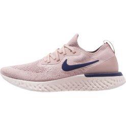 Nike Performance EPIC REACT FLYKNIT Obuwie do biegania treningowe diffused taupe/blue void/phantom/crimson tint. Czerwone buty do biegania męskie Nike Performance, z materiału. Za 629,00 zł.