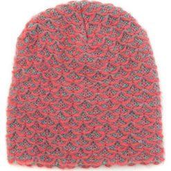 Czapka damska beanie w melanżach różowa. Czerwone czapki zimowe damskie Art of Polo. Za 36,52 zł.