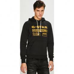 G-Star Raw - Bluza. Szare bluzy męskie rozpinane marki TARMAK, m, z bawełny, z kapturem. Za 369,90 zł.