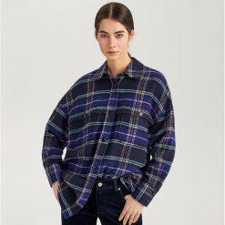 Koszula w kratę ReDesign - Wielobarwn. Szare koszule damskie Reserved. Za 239,99 zł.