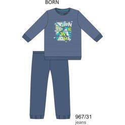 Odzież dziecięca: Piżama chłopięca DR 967/31 Born Jeansowa r. 170
