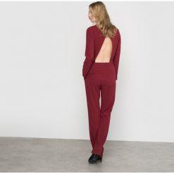 Kombinezony damskie: Kombinezon z odsłoniętymi plecami
