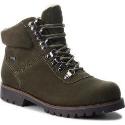 Trapery CAPRICE - 9-26216-21 Khaki Nubuc 715. Zielone buty zimowe damskie Caprice, z materiału. W wyprzedaży za 279,00 zł.