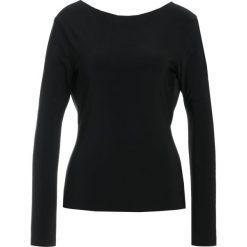Odzież damska: Norma Kamali Bluzka z długim rękawem black