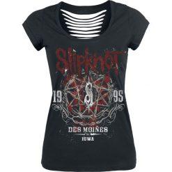 Slipknot Iowa Star Koszulka damska czarny. Czarne bluzki asymetryczne Slipknot, xl, z nadrukiem, retro, z dekoltem na plecach. Za 121,90 zł.