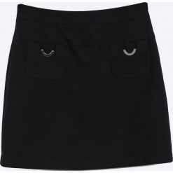 Sly - Spódnica dziecięca 128-158 cm. Różowe minispódniczki marki Mayoral, z bawełny, z okrągłym kołnierzem. Za 199,90 zł.