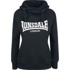Lonsdale London P.Place Bluza z kapturem damska czarny/biały. Białe bluzy z kapturem damskie marki Lonsdale London, l. Za 184,90 zł.