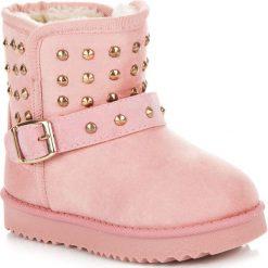 Buty zimowe chłopięce: ŚNIEGOWCE Z DŻETAMI
