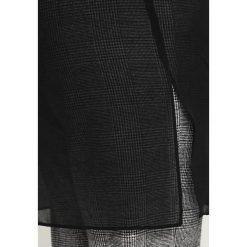 Marynarki i żakiety damskie: Evans LONG LINE COLLARED COVER UP Żakiet black
