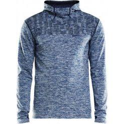 Bluzy męskie: Craft Bluza Męska Core 2.0 Hood Niebieska M