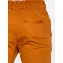 Spodnie męskie: SPODNIE MĘSKIE JOGGERY P435 – RUDE
