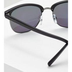 Okulary przeciwsłoneczne męskie aviatory: Polaroid Okulary przeciwsłoneczne dkruth black