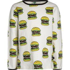 Bluzki dziewczęce bawełniane: Småfolk WITH BURGER Bluzka z długim rękawem cream