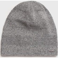 Viking - Czapka. Szare czapki zimowe męskie marki Viking, z dzianiny. Za 79,90 zł.