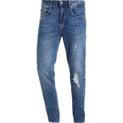 Pier One Jeans Skinny Fit destroyed denim. Szare jeansy męskie marki Pier One. Za 149,00 zł.