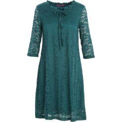 Sukienki: Ciemnozielona Sukienka Perfect Illusion