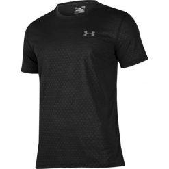Under Armour Koszulka męska Threadborne Emboss M czarna r. S (1289589-001). Białe koszulki sportowe męskie marki Adidas, l, z jersey, do piłki nożnej. Za 92,69 zł.