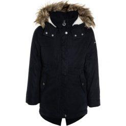Abercrombie & Fitch Płaszcz zimowy black. Czarne kurtki chłopięce Abercrombie & Fitch, na zimę, z materiału. W wyprzedaży za 382,85 zł.