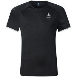 Odlo Koszulka męska T-shirt s/s YOCTO czarna r. L (347992). Czarne koszulki sportowe męskie Odlo, l. Za 219,95 zł.