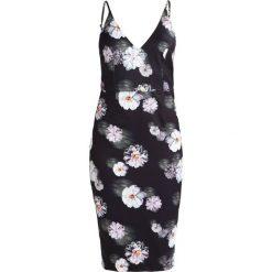 Sukienki: Missguided FLORAL  Sukienka etui black