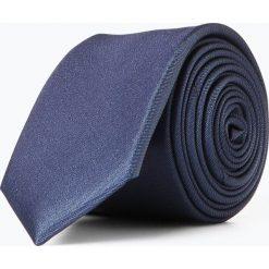 Olymp Level Five - Krawat jedwabny męski, niebieski. Niebieskie krawaty męskie OLYMP Level Five, z jedwabiu. Za 149,95 zł.