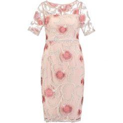 Sukienki hiszpanki: Adrianna Papell Sukienka koktajlowa whisper pink /champagne