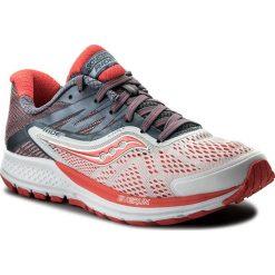 Buty SAUCONY - Ride 10 S10373-8 Wht/Fog/Viz Red. Niebieskie buty do biegania damskie marki Salomon, z gore-texu, na sznurówki, gore-tex. W wyprzedaży za 399,00 zł.