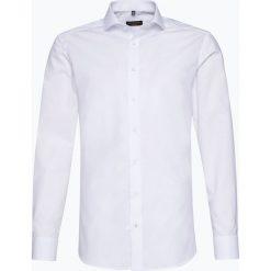 Eterna Slim Fit - Koszula męska niewymagająca prasowania, czarny. Czarne koszule męskie non-iron Eterna Slim Fit, m, z bawełny. Za 229,95 zł.