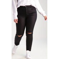 Rurki damskie: Glamorous Curve Jeansy Slim Fit black