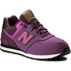 Buty sportowe dziewczęce: Sneakersy NEW BALANCE – KL574YEG Fioletowy