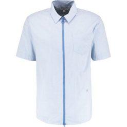 Koszule męskie na spinki: Soulland BRETT ZIPPER Koszula blue