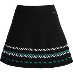 Odzież damska: Armani Exchange Spódnica trapezowa black/jacquard green