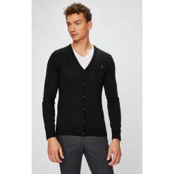 Guess Jeans - Kardigan. Szare kardigany męskie marki Guess Jeans, l, z aplikacjami, z bawełny. Za 399,90 zł.