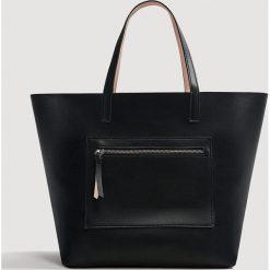 Shopper bag damskie: Mango - Torebka Sabi